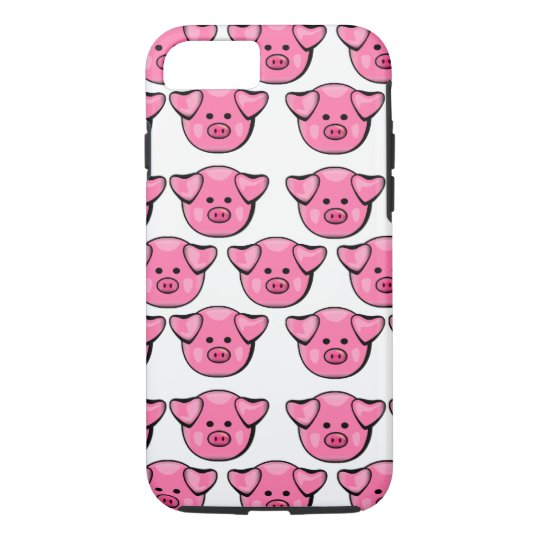 Cute Pink Pigs iPhone 8/7 Case