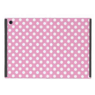 Cute Pink Polka Dots Pattern Case For iPad Mini