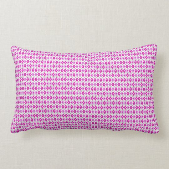 cute pink rectangular art ,pillow lumbar cushion