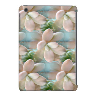 Cute Pink Sedum Succulent Jelly Bean Leaves iPad Mini Cover