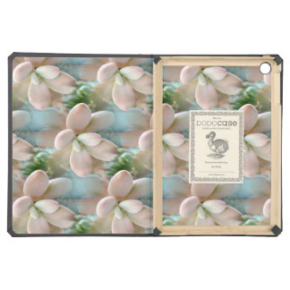 Cute Pink Sedum Succulent Jelly Bean Leaves iPad Air Cover
