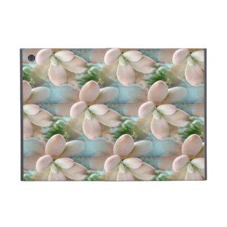 Cute Pink Sedum Succulent Jelly Bean Leaves Case For iPad Mini