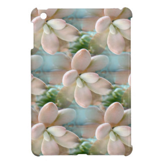 Cute Pink Sedum Succulent Jelly Bean Leaves Case For The iPad Mini