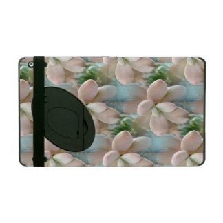 Cute Pink Sedum Succulent Jelly Bean Leaves iPad Case