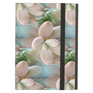 Cute Pink Sedum Succulent Jelly Bean Leaves Cover For iPad Air