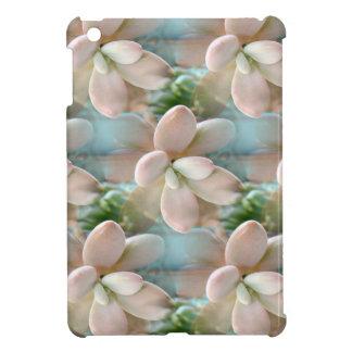 Cute Pink Sedum Succulent Jelly Bean Leaves Case For The iPad Mini