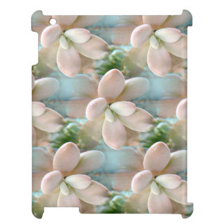 Cute Pink Sedum Succulent Jelly Bean Leaves Cover For The iPad