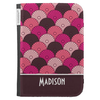 Cute Pink Shells Kindle 3 Cover