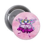 Cute Pink Sugar Plum Fairy Printed Jewel Effect