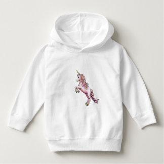 Cute Pink Unicorn Hoodie