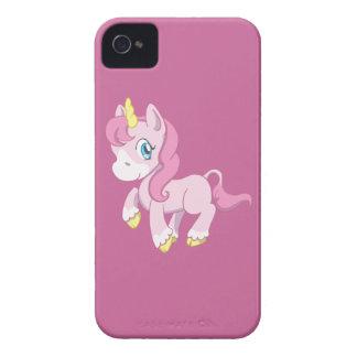 Cute Pink Unicorn iPhone 4 Case-Mate Cases