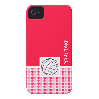 Cute Pink Volleyball iPhone 4 Case-Mate Case