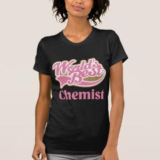 Cute Pink Worlds Best Chemist T-Shirt