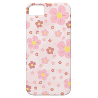 Cute Pinky Flowers Barely There iPhone 5 Case