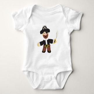 Cute Pirate Baby Bodysuit