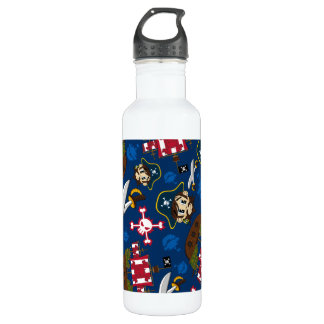 Cute Pirate Captain 710 Ml Water Bottle