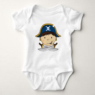 Cute Pirate Captain Babies T-Shirt