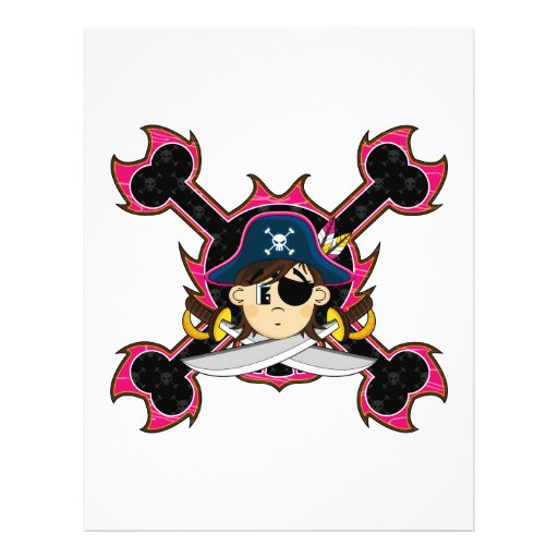 Cute Pirate Captain Flyer