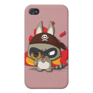 Cute Pirate Funny Cartoon Slingshot iPhone Case iPhone 4 Covers