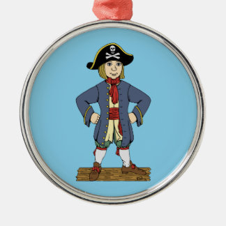 Cute Pirate Lad Christmas Ornament