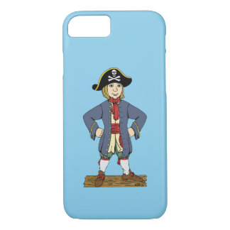 Cute Pirate Lad iPhone 7 Case