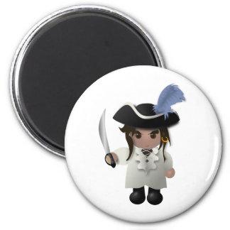 Cute Pirate Magnet