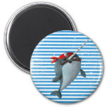 Cute Pirate Narwhal Fridge Magnets