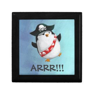 Cute Pirate Penguin Gift Box