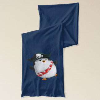 Cute Pirate Penguin Scarf