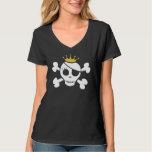 Cute Pirate Princess Dark T-Shirt