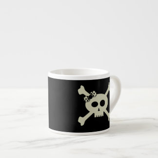 Cute Pirate Skull Personalized Espresso Mug