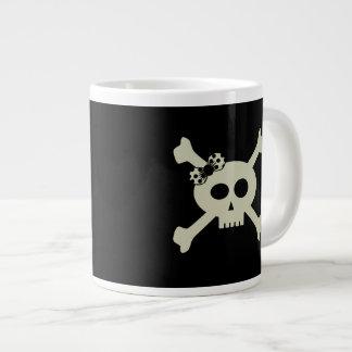 Cute Pirate Skull Personalized Jumbo Mug