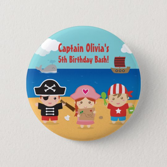 Cute Pirate Themed Kids Birthday Party Favours 6