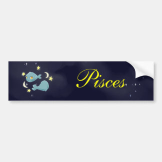 Cute Pisces Bumper Sticker