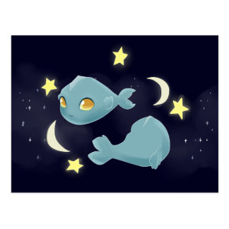 Cute Pisces Postcard