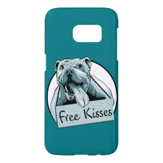 Cute pit bull phone case S7