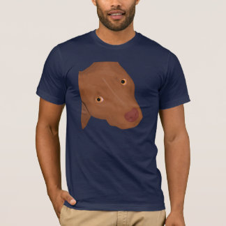 Cute Pit Bull portrait T-Shirt