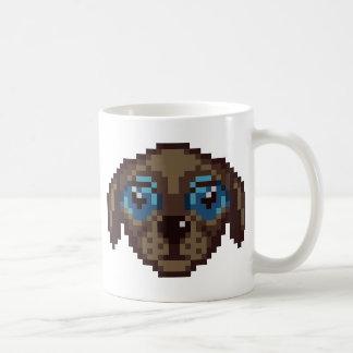 Cute Pixel-Art Puppy Coffee Mug