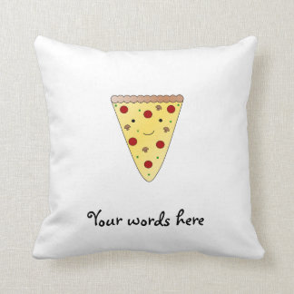 Cute pizza cushion
