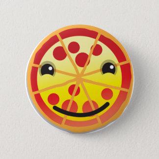 cute pizza pepperoni! 6 cm round badge