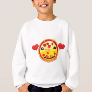 cute pizza pepperoni! sweatshirt