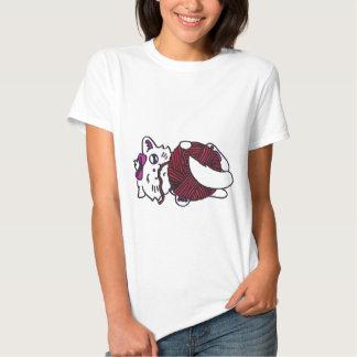 cute playful kitten t-shirt