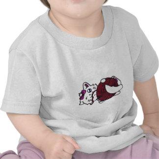 cute playful kitten shirt