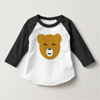 Cute Pleased Bear Face T-shirt