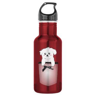 Cute Pocket Puppy Dog 532 Ml Water Bottle