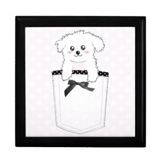 Cute Pocket Puppy Dog Gift Box