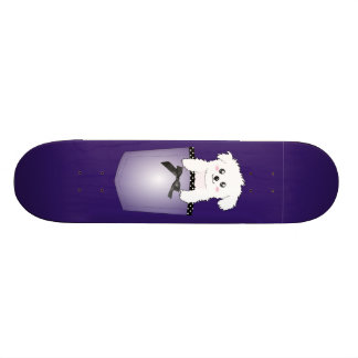 Cute Pocket Puppy Dog Skate Board Deck
