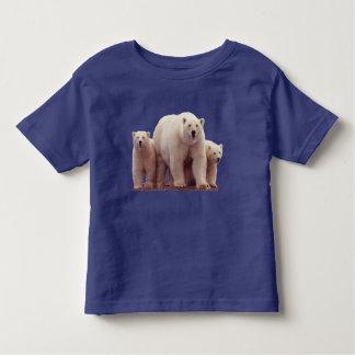 Cute Polar Bear Cubs Arctic Wildlife Toddler Shirt