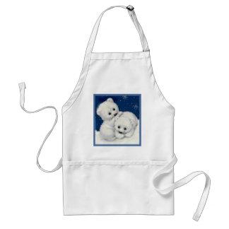 Cute Polar Bear Cubs Standard Apron