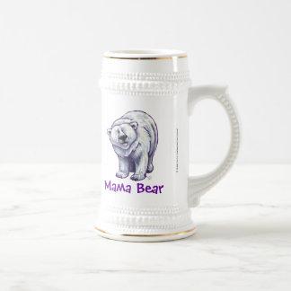 Cute Polar Bear for Mom Beer Stein